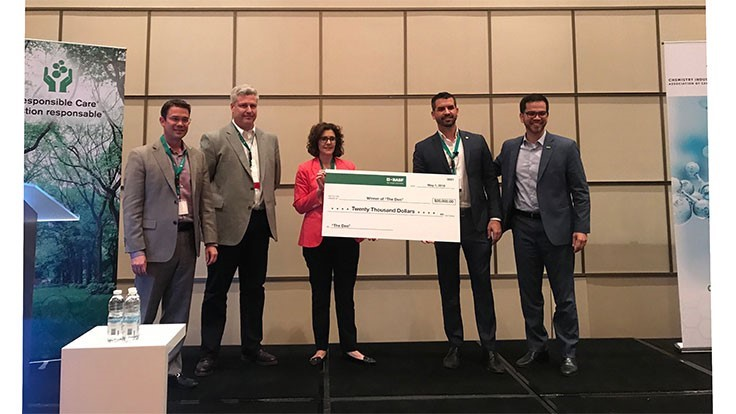 BASF Canada awards Pyrowave in startup challenge