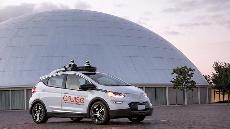 GM's Cruise Automation autonomous car division wins new investment