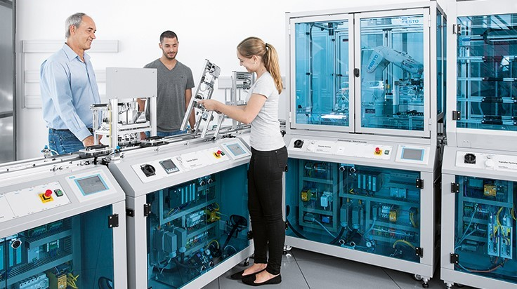 NIMS, Festo Didactic to Develop Industry 4.0 skills standards