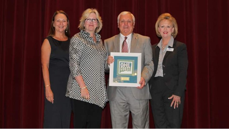 Gordon Redd Recognized as a South Mississippi Community Leader