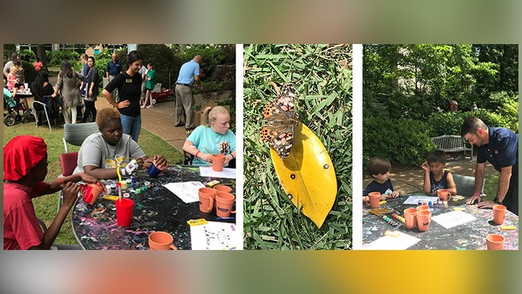 Arrow Exterminators Hosts Annual Butterfly Release for CHOA Patients and Mothers