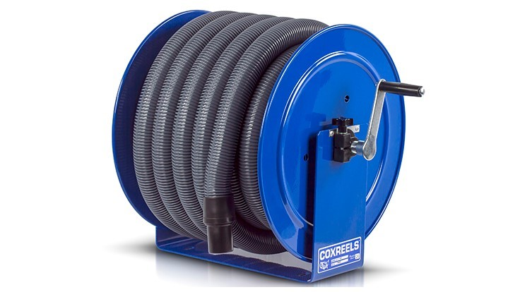 Coxreels Offers New Options for the Vacuum Series Reel