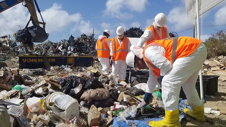 EPA to perform MSW characterization study on Virgin Islands landfills