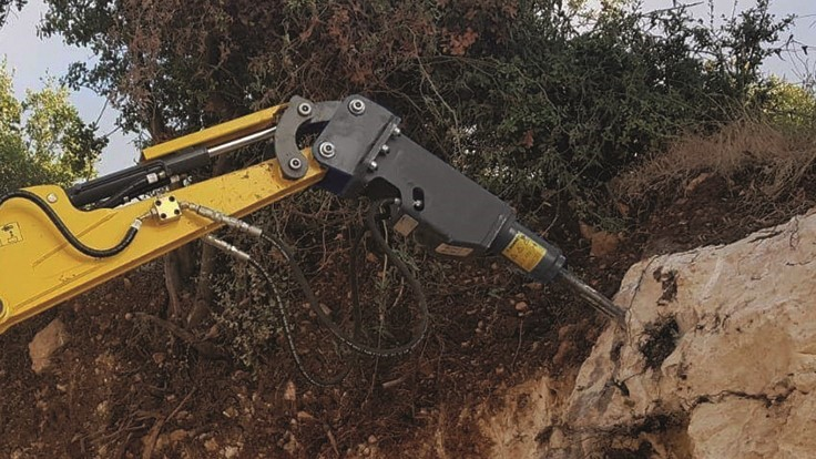 Kinshofer introduces new hydraulic breakers