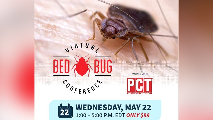 CEUs Available for Wednesday's Virtual Bed Bug Conference