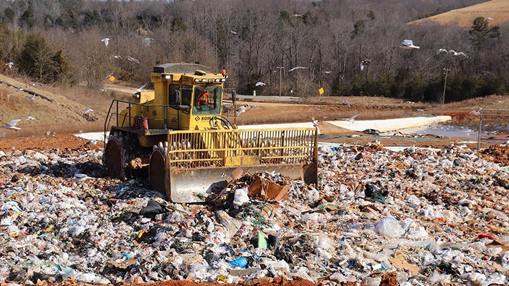 How the right compactor can help maximize landfill space