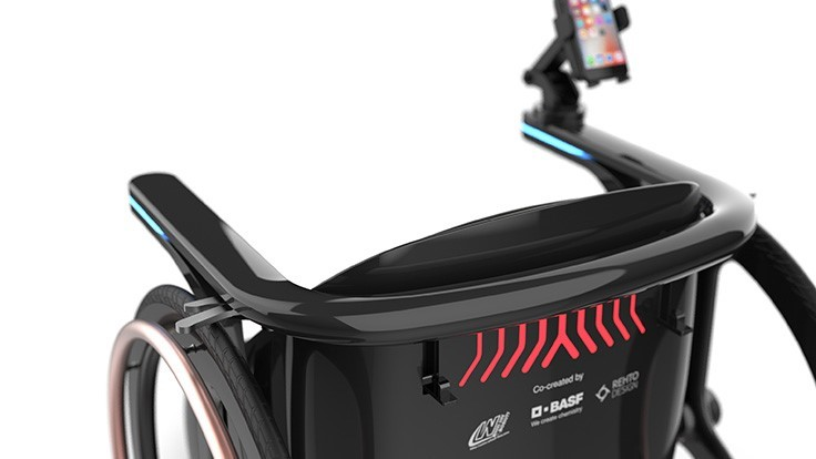 BASF's Ren Chair wheelchair helps users achieve more active lifestyle