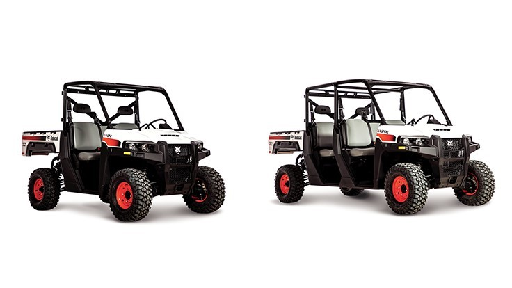 Bobcat introduces enhanced utility vehicles