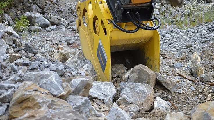 Guide to bucket crusher hydraulic attachments