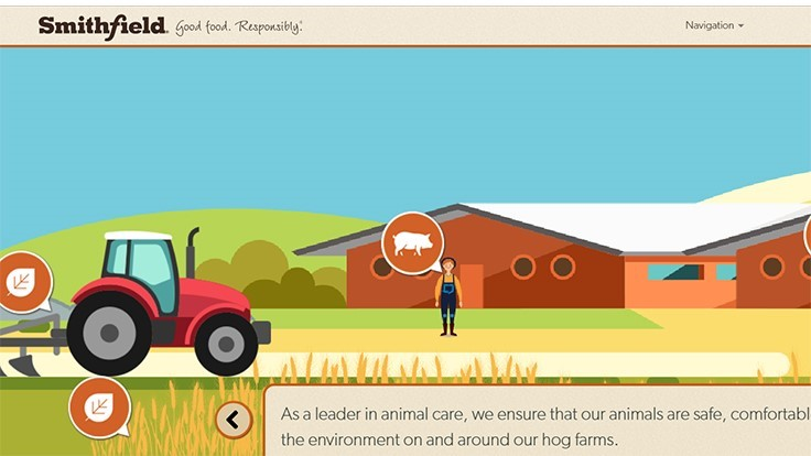 Smithfield Foods Launches Interactive Farm-to-Table Virtual Tour
