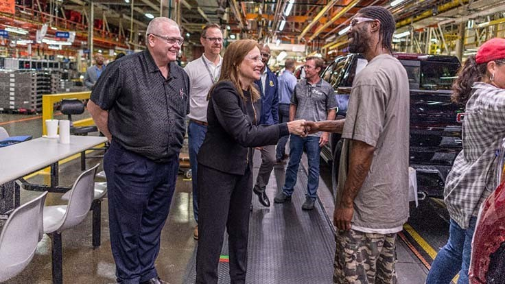GM spending $24 million to boost Indiana truck production