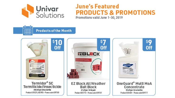 Univar Solutions Announces June Products of the Month