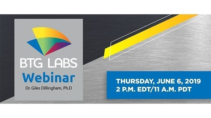 Tomorrow: Surface preparation for proper adhesion webinar