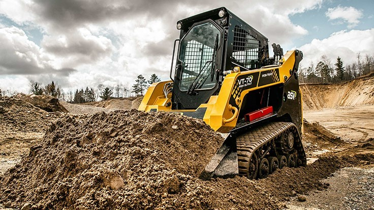 ASV introduces new Posi-Track loader: the VT-70 High Output