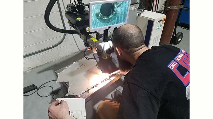 Complete Machining Services adds laser mold repair services for Detroit area plastics companies