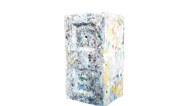 ByFusion recycles plastic scrap into building material
