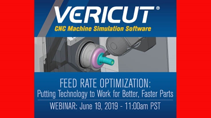 Free webinar: Feed Rate Optimization for Better, Faster Parts