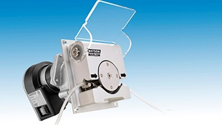 Watson-Marlow's 400RXMD DriveSure panel mount pump