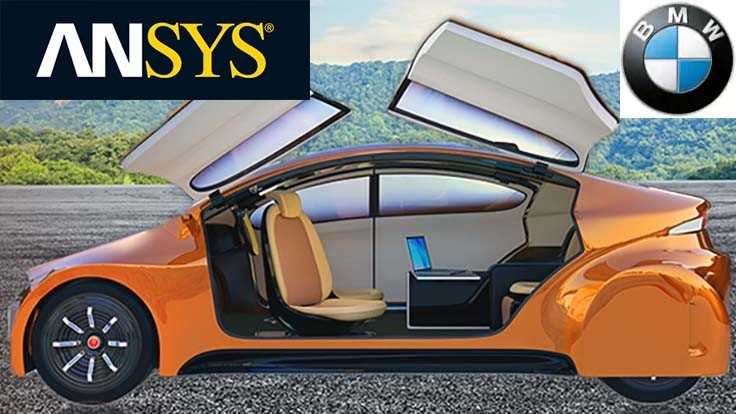 BMW, Ansys collaborate on autonomous vehicle simulation