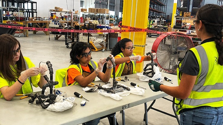 National construction group holds career camp for girls