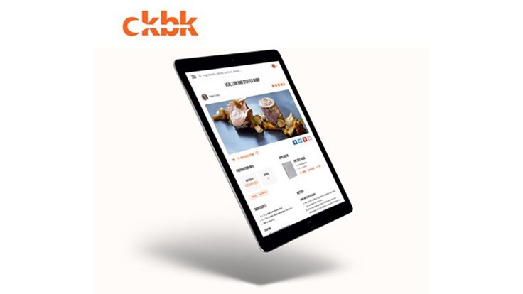 Ckbk Launches Digital Cookbook Subscription Service to the Professional Market