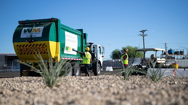 Waste Management introduces new driver training center