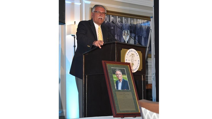 Bob Farren inducted into Carolinas Golf Hall of Fame