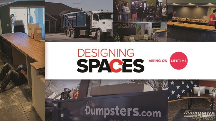 Dumpsters.com provides services to Oscar Mike Foundation