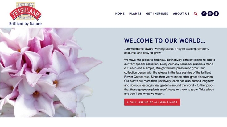 New Anthony Tesselaar Plants website offers additional resources