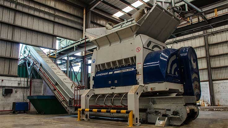 Polaris shredder helps Geocycle manage waste in Mexico