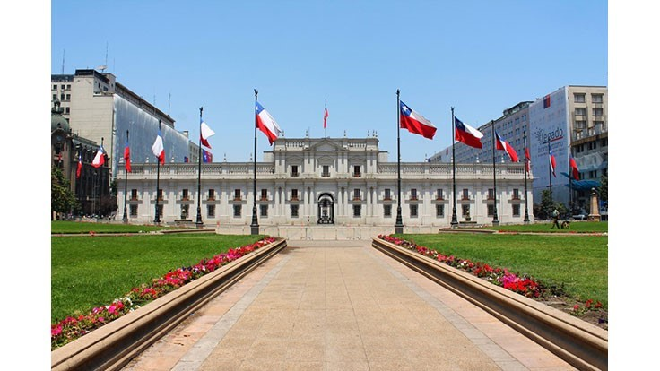 Chile's government palace installs organics biodigester