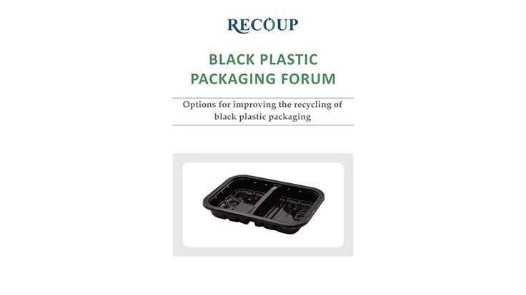 RECOUP publishes report on the black plastic recycling challenge