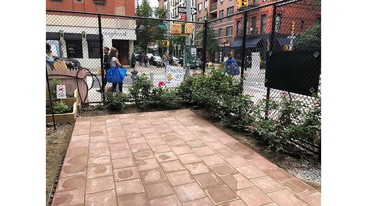 Project Evergreen Designs Nyc Community Garden Lawn Landscape