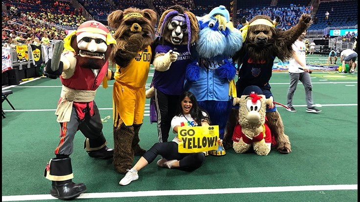 Truly Nolen Team Yellow Wins Championship at 2019 Mascot Games