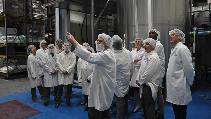 Connecticut Energy Advisors Tour Watson Inc. Sustainability Initiatives