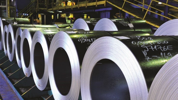 Steel shipments in May decline slightly from April