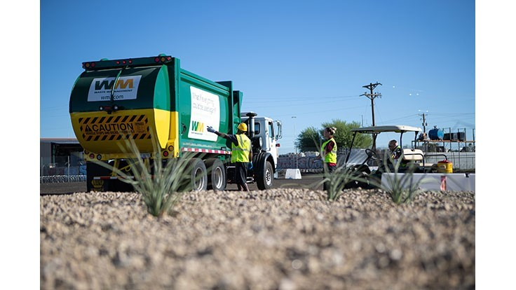 Waste Management training centers help retain drivers, technicians