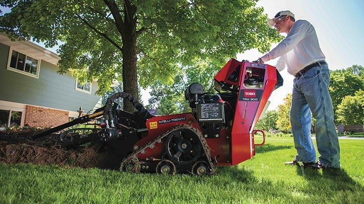 Toro adds two new models to TRX walk-behind trencher line