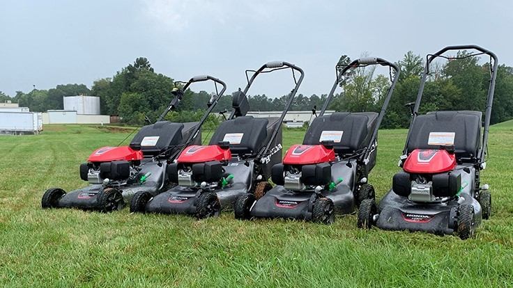 Honda debuts HRN Series of residential lawn mowers