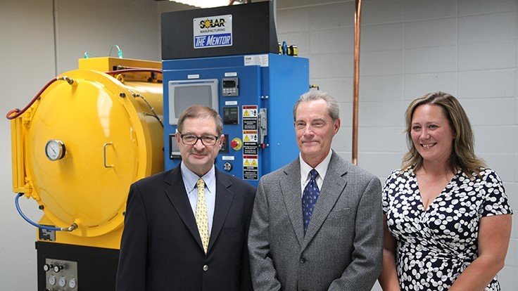 Solar Atmospheres donates Mentor Furnace to Lehigh University