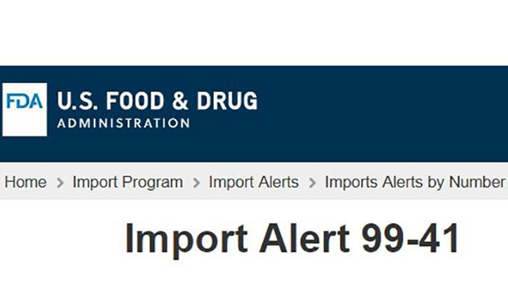 FDA Issues First Warning Letter Under the Foreign Supplier Verification Programs