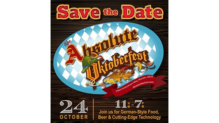 Absolute Machine Tools celebrates Oktoberfest