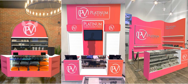 Platinum Takes Control of Its Branding Through Store-Within-a-Store Concept