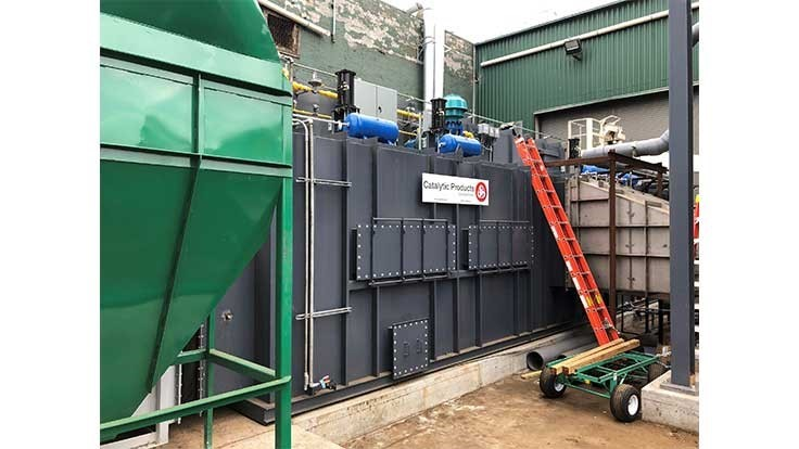 General Iron installs equipment to control shredder emissions