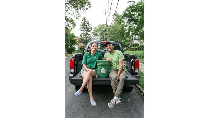 New Jersey couple launches food scrap pickup service