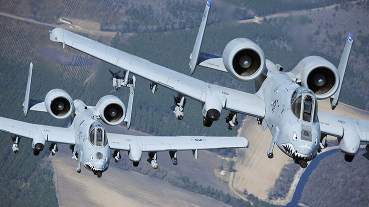 Boeing to supply new A-10 Thunderbolt II wings