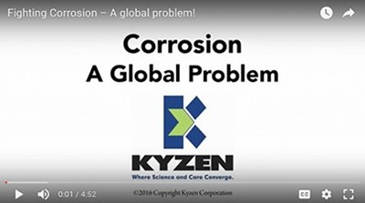 KYZEN to exhibit corrosion inhibitors at Westec 2019