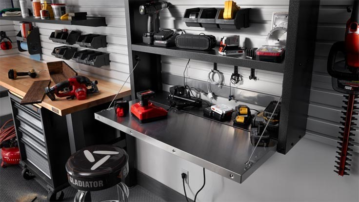 Gladiator releases trio of new work space organization products