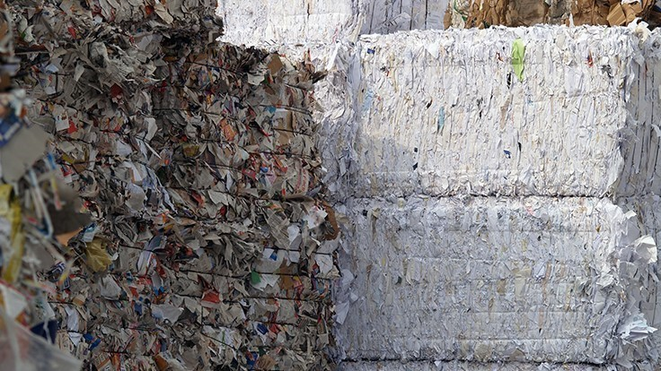 Kentucky city seeks to resume paper recycling