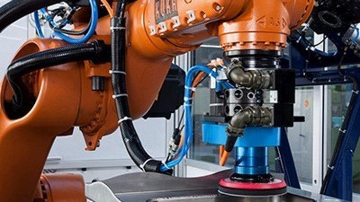 Robot solutions for automated manufacturing